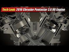 Tech Look: 2016 Chrysler Pentastar 3.6 V6 - TestDriven.TV