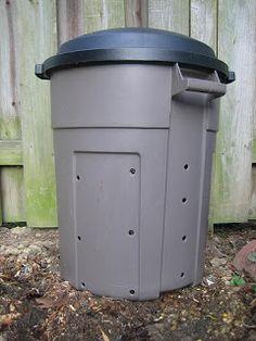 Six in the Suburbs: DIY Compost Bin