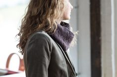 torno by amy maceyko / quince & co chickadee in damson