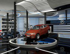 """Empfohlenes @Behance-Projekt: """"Car Showroom"""" https://www.behance.net/gallery/27759113/Car-Showroom"""