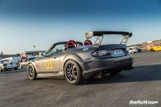 Otto_W Cosworth Supercharged Mazda MX5 Miata - Built by Cyberbug on Miata.net - This photo was taken by RallyWays at Miatas at Mazda Raceway Laguna Seca 2014. #rallyways #miata #mx5 #mazdamx5