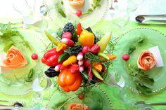 ベジウエディング® トータルコーディネートプラン   野菜のブーケ『ベジブーケ』オフィシャル・サイト