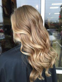 Hair Color Balayage, Hair Highlights, Golden Highlights, Blonde Hair Dye Colours, Balayage Hair Dark Blonde, Dark Blonde Balayage, Brown Blonde Hair, Brunette Hair, Brunette Color