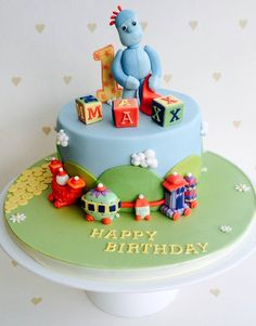 In the night garden cakes and cupcakes on pinterest for In the night garden cakes designs