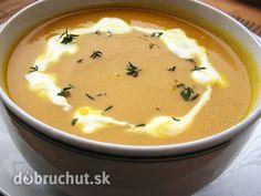 Fotorecept: Mrkvová polievka so zázvorom - Výborná desiatová polievka vhodná aj pre deti ktoré neľúbia mrkvu... ak nechcete použiť víno...
