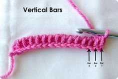 How To Crochet Tunisian Stitch