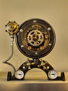Steampunk Art by Marcel Boonen, via Behance