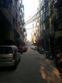 Morning in Delhi