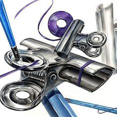 건강이 최고~  #기초디자인 #쇠질감 #쇠집게 #연필 #띠테이프 #시범작 #개체 #디자인 #화면구성 Single Line Drawing, Colorful Drawings, Easy Drawings, High School Art Projects, Ap Studio Art, Sketches Tutorial, Realism Art, A Level Art, Gcse Art