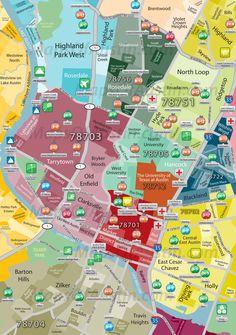 Map Of Texas High Schools.56 Best Colleges Images Austin Neighborhoods Austin Map High Schools