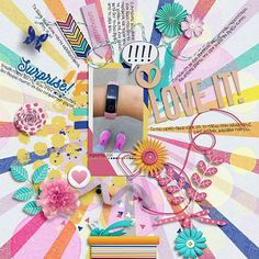 Shadow Box, Digital Scrapbooking, Lilac, How To Find Out, Make It Yourself, Gallery, Creative, Sweet, Summer