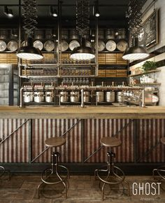 Smokehouse Restaurant by Adamtzis Harris