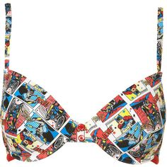 Batgirl Bra ($12) ❤ liked on Polyvore featuring intimates, bras, underwear, lingerie, women, push up bra and lingerie bras
