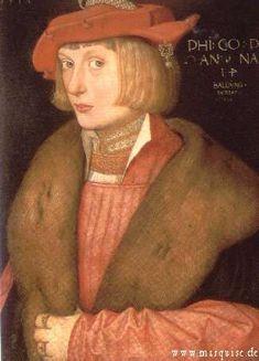 Pfalzgraf Philipp der Kriegerische by Hans Baldung Grien, 1517