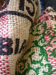 Thanks to Workshop Clerkenwell for the Columbian coffee sacks - we've donated to London zoo so the gorillas don't miss out!