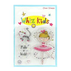 Whiz Kids Clear Stamp Ballerina product image