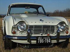 Retro Cars, Vintage Cars, Antique Cars, British Sports Cars, Classic Sports Cars, Triumph Sports, Bond Cars, Tr 4, Classy Cars