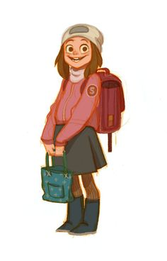 Trendy drawing ideas for teens sketches girls anna cattish 48 ideas Character Design Teen, Character Design Sketches, Character Poses, Kid Character, Character Design References, Character Design Inspiration, Character Concept, Concept Art, Anna Cattish