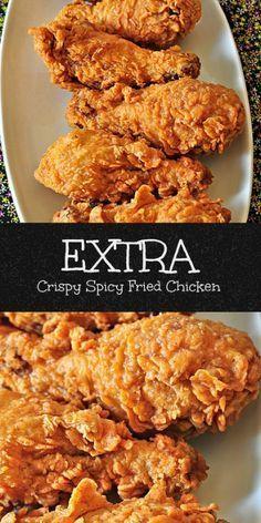 Fried Chicken Collage