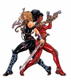 MARVEL's Valkyrie and Misty Knight, DEFENDERS
