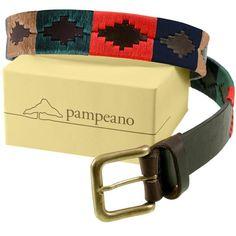 Pampeano – Leather Polo Belt – Navidad