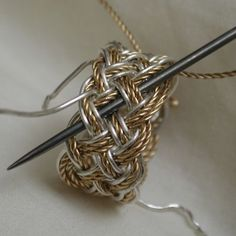 Jewelery Making Class - I've never thought of it before but this ring is inspiring.