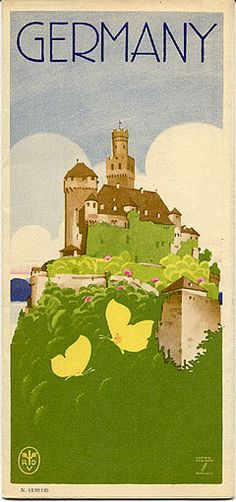 Graphic Design| Serafini Amelia| Vintage Travel Art Poster| Germany Ludwig Hohlwein 1934