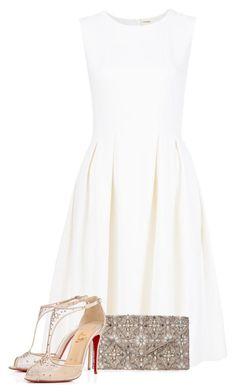 Untitled #810 by mrseclipse on Polyvore featuring polyvore, fashion, style, ADAM, Christian Louboutin, Accessorize and clothing