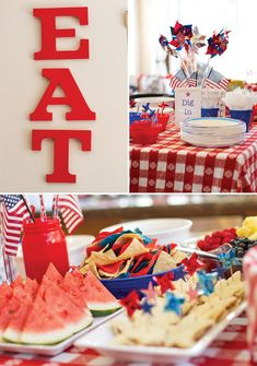 Since the 4th of July is my most favorite holiday, I love this party theme from @Jennifer Sbranti at Hostess with the Mostess!