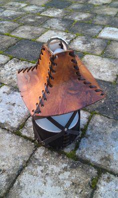 Lanterne Balmora - loupiotte LARP GN décoration / antique usé Leather Hats, Larp, Antiques, Crafts, Etsy, Decor, Fur, Lantern, Unique Jewelry