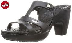 Crocs Cyprus V Heel W, Damen T-Spangen Pumps, Schwarz (Black/Black 060), 37/38 EU (*Partner-Link)