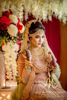 Bangladeshi bridal look