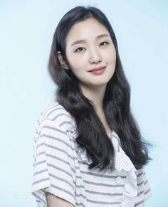 Jung Hae In and Kim Go Eun are Bright-eyed and Bushy-tailed for Romance in Spread Asian Actors, Korean Actresses, Korean Actors, Kim Go Eun Goblin, Kdrama, Girl Actors, Han Ji Min, Gumiho, Jin Goo