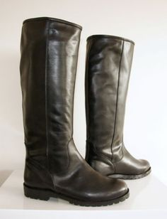 NIB-Mens-Tall-Leather-Motorcycle-Riding-Boots-Size-11