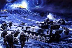 Battle for Wireless Ridge, Falklands, 13th June 1982
