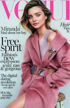 Vogue Australia July 2014 | Miranda Kerr by Nicole Bentley