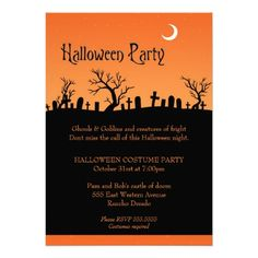 Throw a monster mash with Halloween invitations from Zazzle! Dress up your event with Halloween party invitations in a range of styles & themes today! Halloween Party Invitations, Halloween Party Costumes, Halloween Night, Hallows Eve, Invites, Rsvp, Stationary, Kids, Toddlers