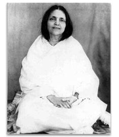 Anandamayi Ma Although Anandamayi Ma did not formally consider herself a guru she had many ashrams and devotees. Ma taught by doing. One way she frequently taught those devotees was to leave them quickly.