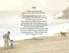 I miss you dad! Personalized Fathers Day Gifts, Fathers Day Crafts, Gifts For Dad, Birthday Poems For Dad, Daddy Poems, I Miss You Dad, Pomes, Cardmaking, Verses