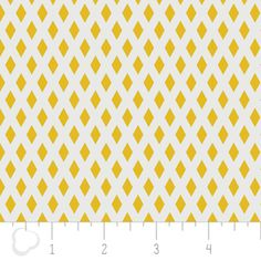 Camelot Cottons House Designer - Rise and Shine - Neat in Mustard