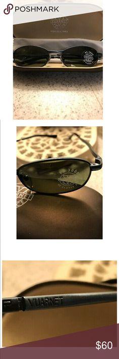 72f8c991db88 Vuarnet France Sunglasses Pouilloux W  Case unisex ~VUARNET~m Vintage  France Sunglasses Pouilloux