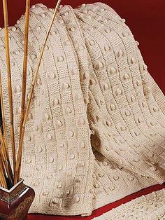 Ravelry: Basketweave Afghan pattern by Melissa Leapman