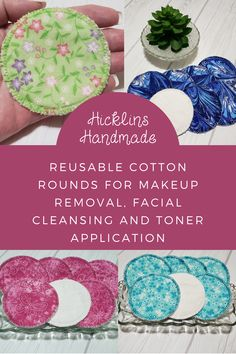 Eco friendly, soft, machine wash and dry. Great for washing your face, removing makeup and applying toner. Makeup Remover Pads, Facial Cleansing, Wash N Dry, Wash Your Face, Beauty Routines, Eco Friendly, Etsy Seller, Handmade Items, Felt
