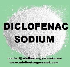 Diclofenac Sodium Raw Material Manufacturer Supplier And Exporter   Diclofenac Sodium  is a cough suppressant. It affects the signals in the brain that trigger cough reflex. Diclofenac Sodium  is used to treat a cough. It is available over-the-counter alone and is also present in many over-the-counter and prescription combination medications Cold Medication, Magnesium Hydroxide, Chemical Substances, Cold Or Allergies, Watery Eyes, Runny Nose, Raw Materials