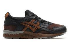 "Asics Gel Lyte V ""Ostrich Leather"" Pack - EU Kicks: Sneaker Magazine"