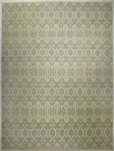 Luxuriate in soft landing with this wool and silk rug in soft color palette. Teal Area Rug, Beige Area Rugs, Hand Knotted Rugs, Woven Rug, Custom Carpet, Indian Rugs, Transitional Rugs, Modern Area Rugs, Patterned Carpet