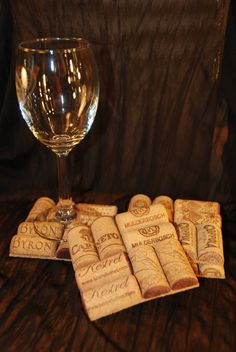 I knew I was drinking all that wine & saving corks for a reason!
