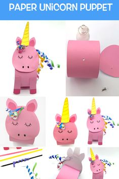 Paper Unicorn Puppet – Make Film Play