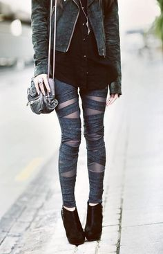Bandage leggings
