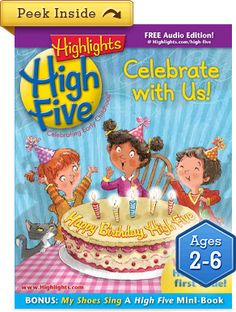 Highlights Magazine {Today& Gem} We just spent a lovely hour finding hidden pictures, reading and laughing. The low tech things can still be fun. High Five Magazine, Highlights Magazine, Magazines For Kids, Learning Games, Head Start, Fun Activities, Little Ones, Childrens Books, Gifts For Kids